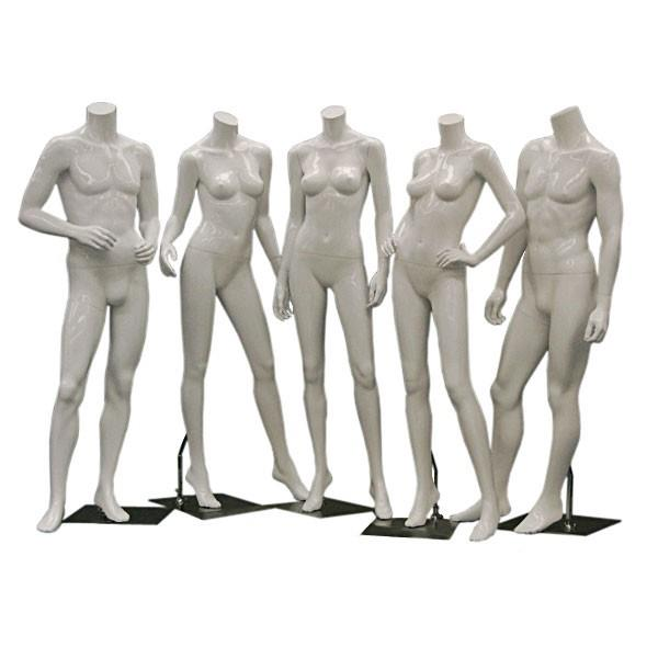 Headless Mannequins, Male, Female, Kids