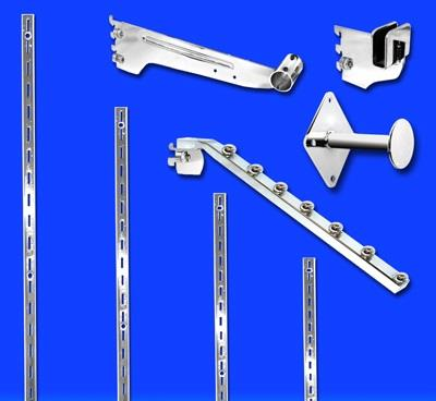 Slotted Standards, Slotted Recessed Standards & Outriggers