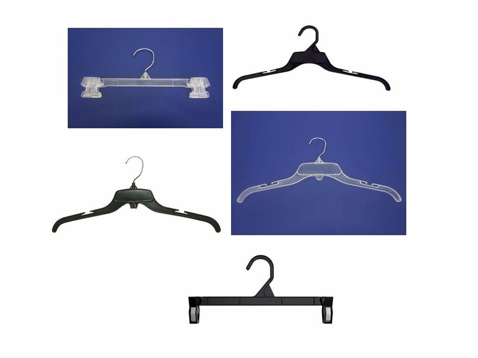 Ladies, Mens, Kids Flexible  Plastic Hangers