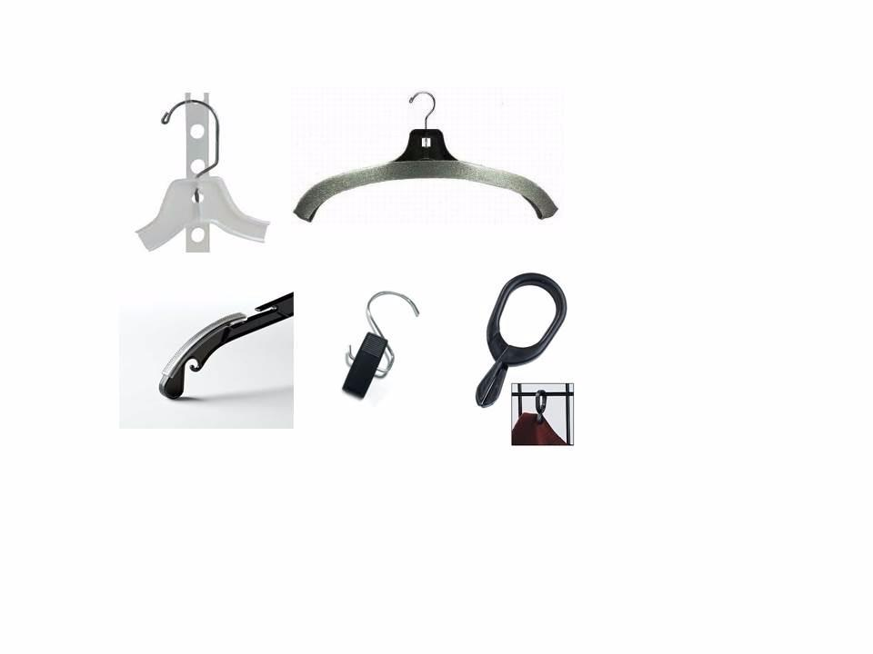 Foam Covers, Attachments, Accessory Hangers, Hanger Holders